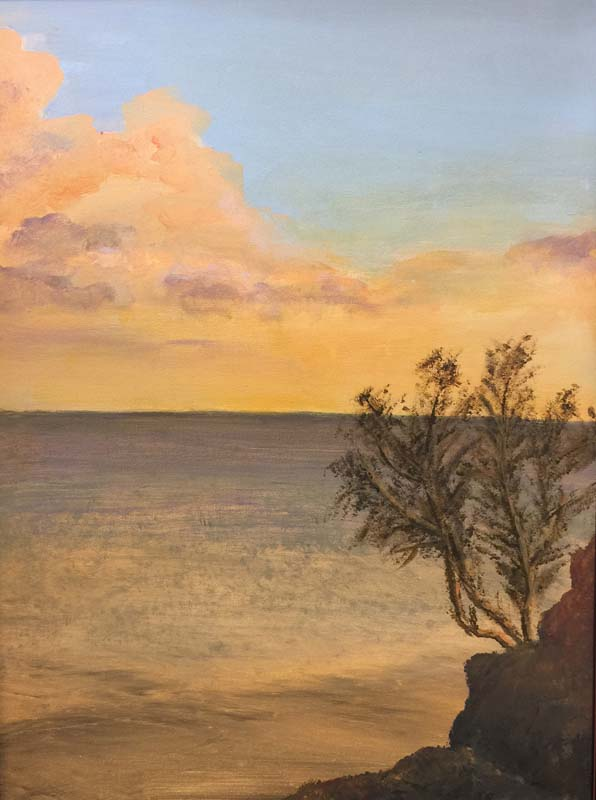 Nancy Weeks-The Sun Also Rises-Acrylic-$700