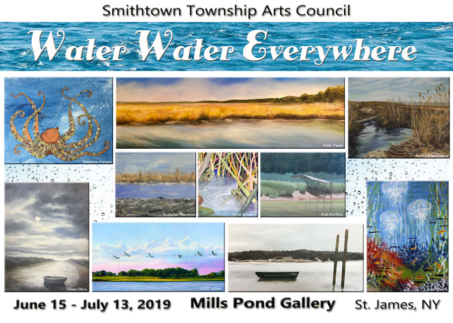 The public is invited to the opening reception Saturday, June 15 at 2 pm to meet the exhibiting artists and view the exhibition…all are welcome!   Exhibiting artists: Lucia Alberti, Chris Ann Ambery, Ross Barbera, Barbara Bilotta, Joyce Bressler, Jessica Capobianco, Frances Dia, Paul Jay Edelson, Vivian Gattuso, Maureen Ginipro, William Graf, Gabriella Grama, Jan Guarino, Luann Johnson, Jordan Katter, Anne Katz, James Kelson, Lynn Kinsella, Mary Lor, Karen Mahoney, Cliff Miller, Drigo Morin, Diane Oliva, Lynne Rivellese, Robert Roehrig, Lori Scarlatos, Patricia Scollo, Mike Stanko, Nicholas Valentino, Nancy Weeks, Patty Yantz  See below for selected images from the exhibit