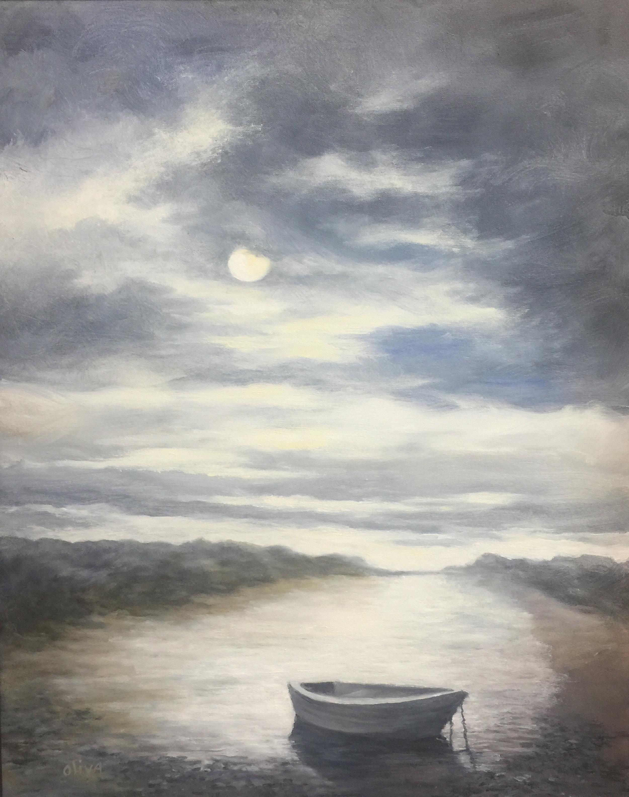Diane Oliva-East End Reflections-Oil-$700