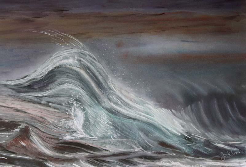 James Kelson-Sandy-Pastel-$400