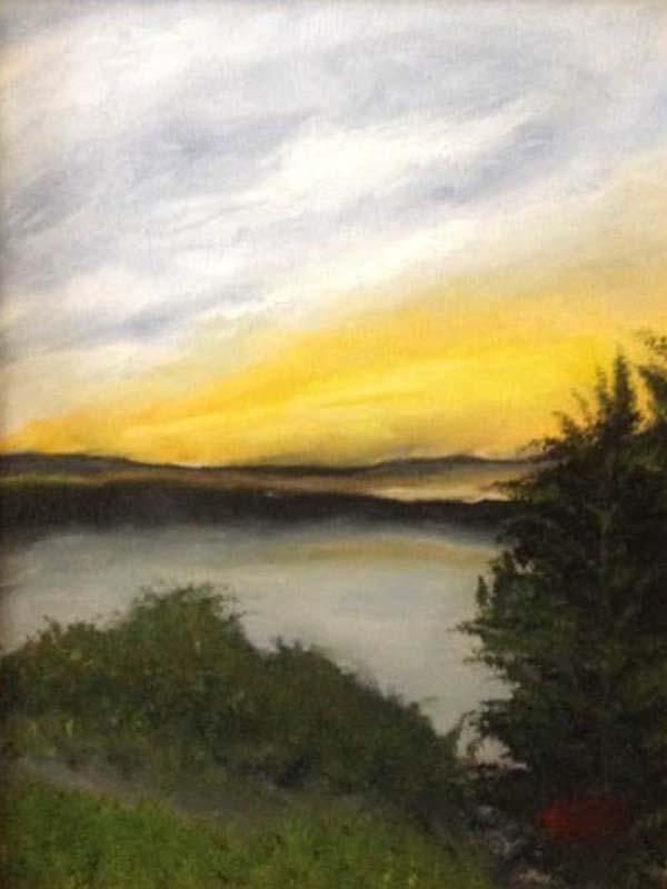Patricia Scollo-Pirate's Cove-Oil on Canvas-$500