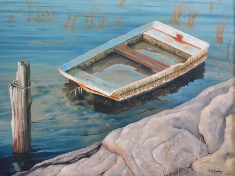 Robert Roehrig-Waterlogged-Oil-$NFS