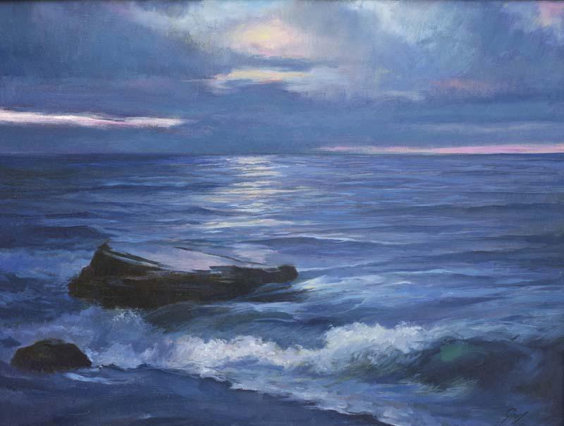 William Graf-Horton's Point-Oil-$1500
