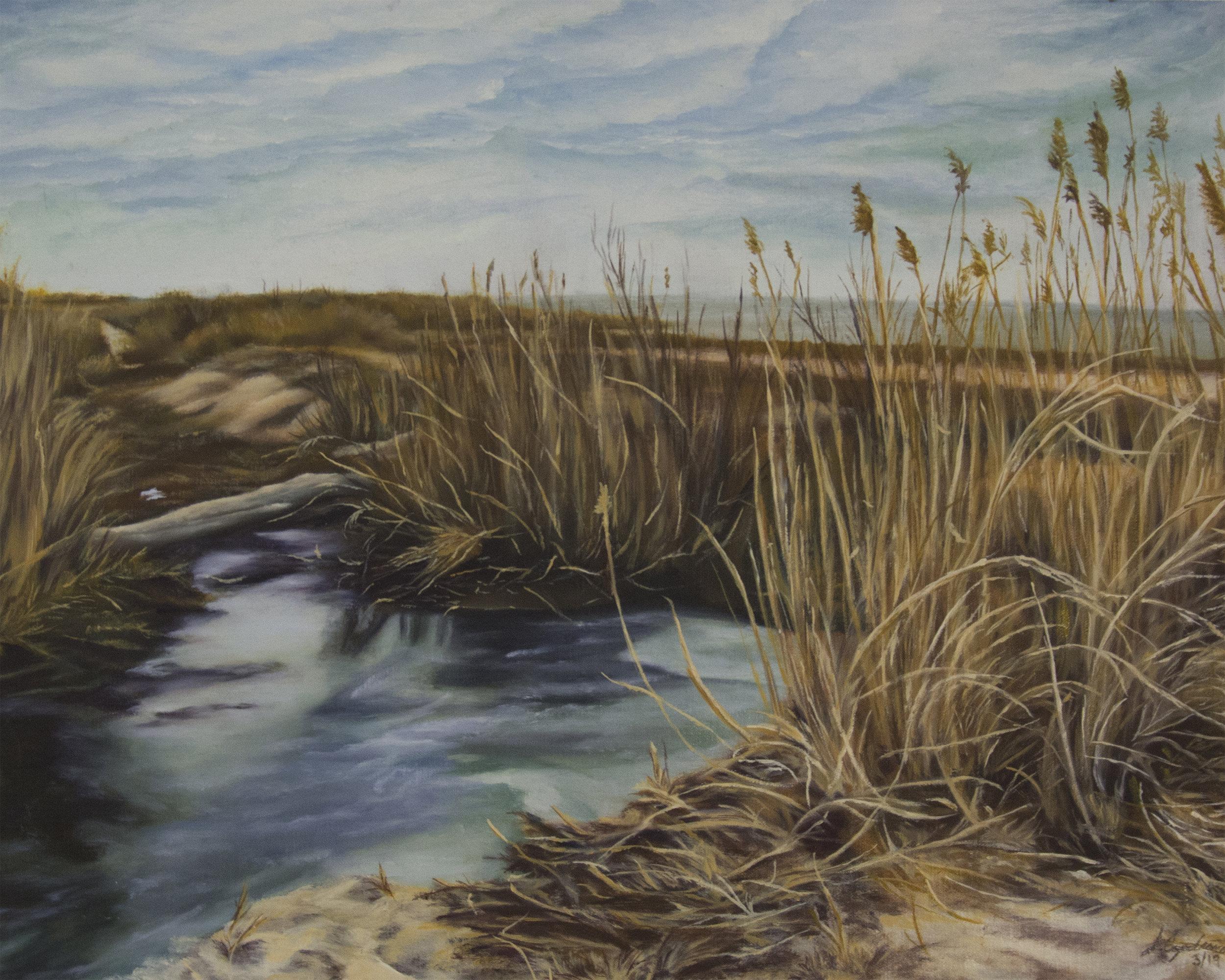 Jessica Capobianco-Winter at Gardiner-Oil on Canvas-$500