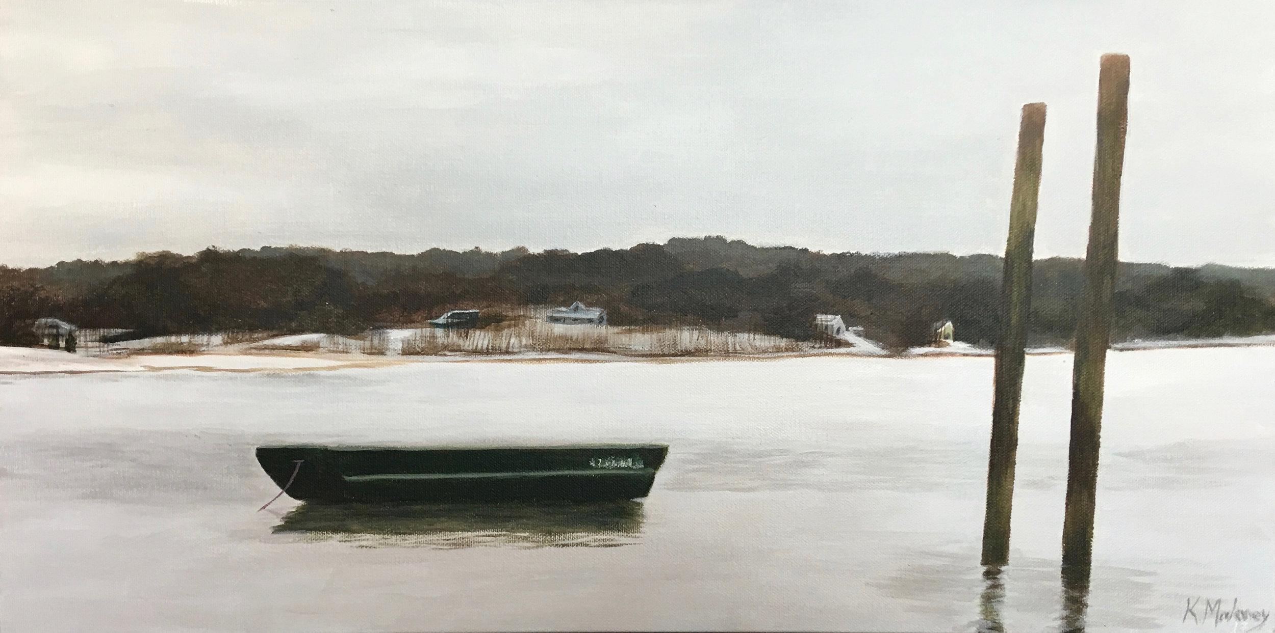 Karen Mahoney-Winter Repose-Acrylic-$360