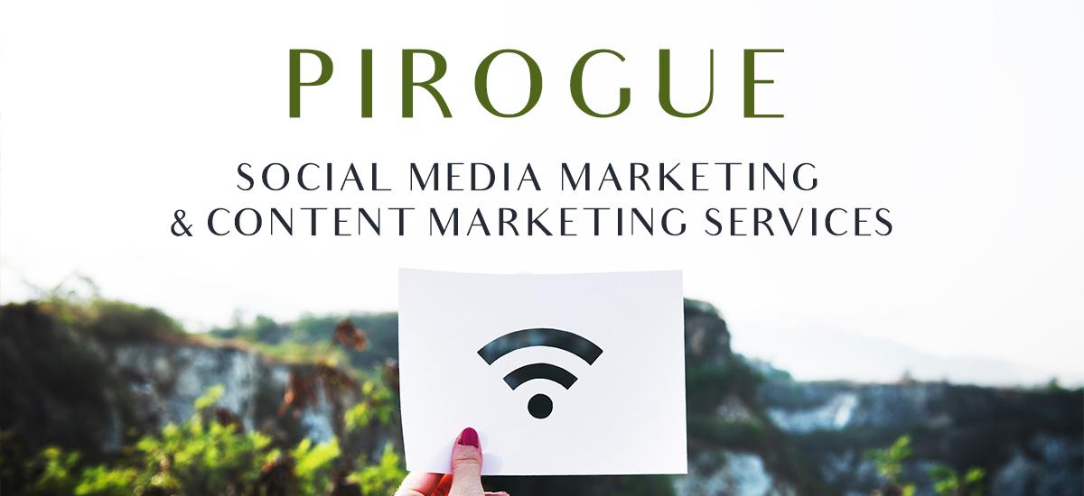 Pirogue Social media and Content Marketing
