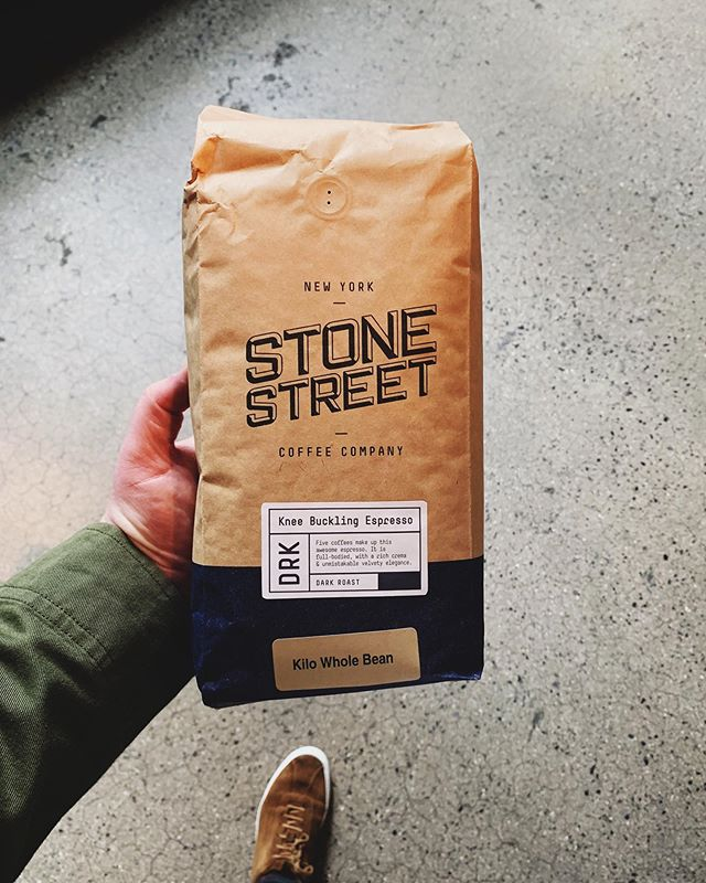 Keeping us fueled in the office this week as we develop the new #StoneStreetCoffee brand for their new locations in Manhattan