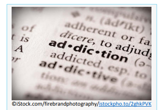 When people who use drugs can't stop taking a drug even if they want to, it's called addiction. The urge is too strong to control, even if you know the drug is causing harm.