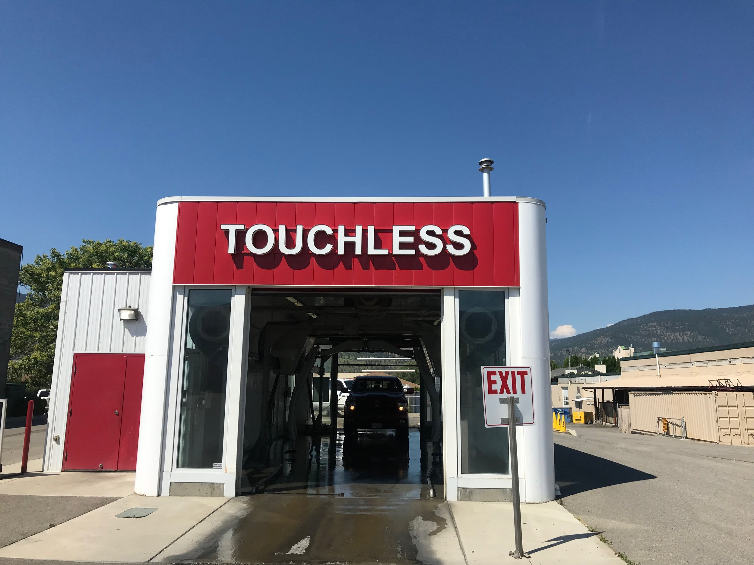 This is the best wash system on the market. Touchless so you don't have to worry about scratching that new ride, but aggressive chemicals to make sure the job gets done right.