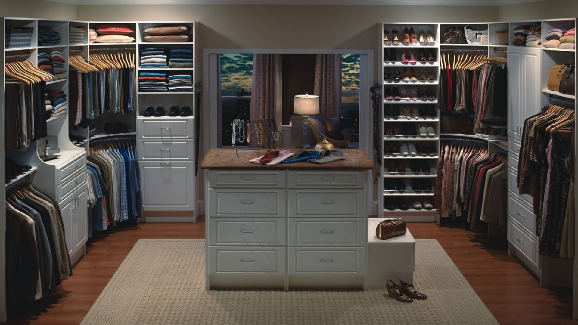 Designed to spec. - Every closet we build is designed with you in mind. If you don't know exactly what you want, that's fine too. Check out our project gallery for Inspiration.