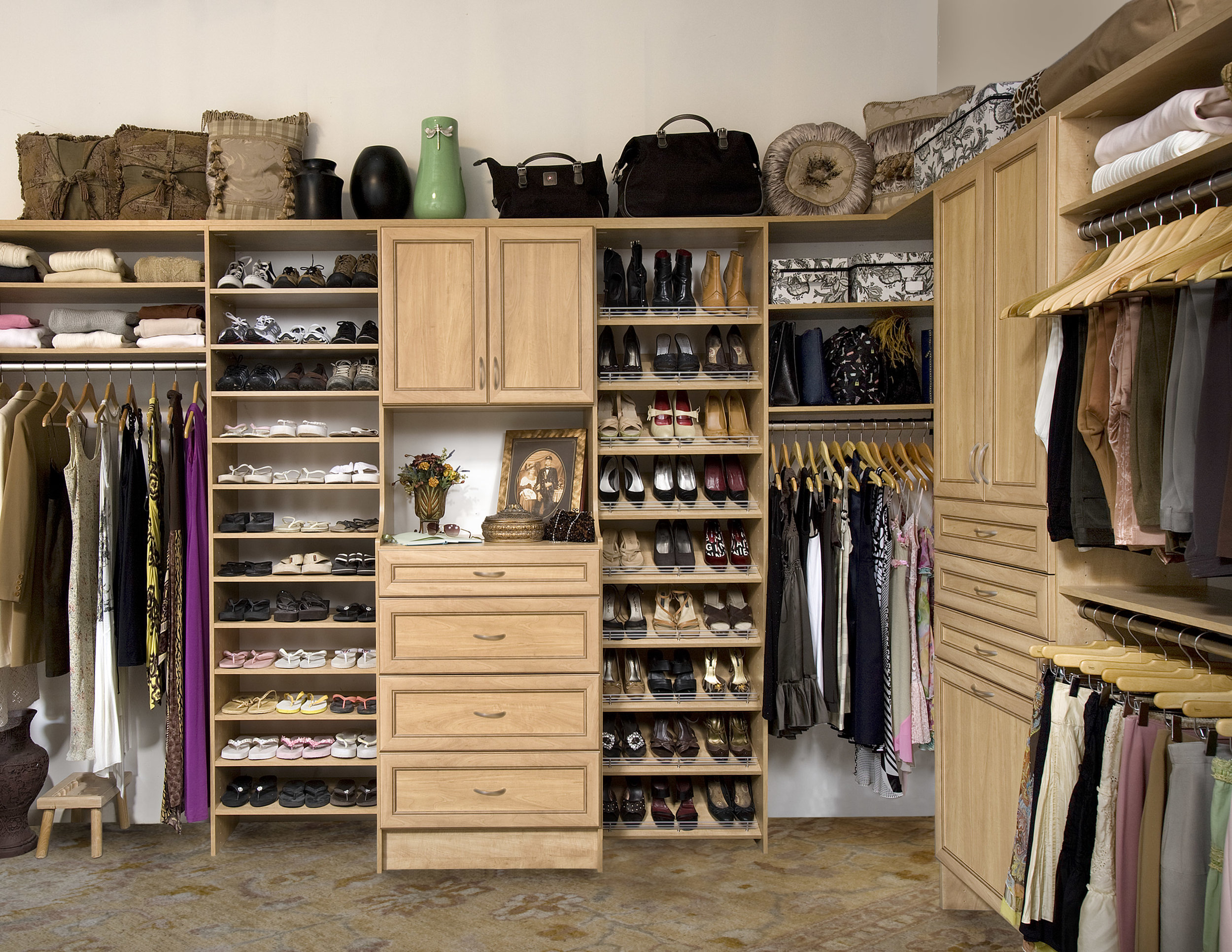 Walk-In Closets -