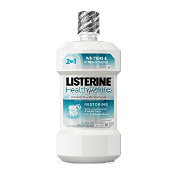 Listerine Healthy White Mouthwash