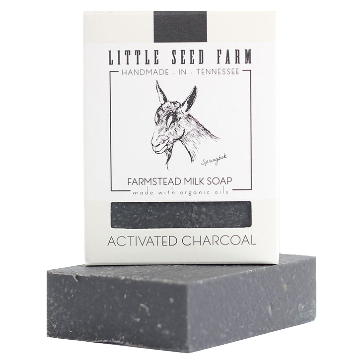 Little Seed Farm Activated Charcoal Facial Soap