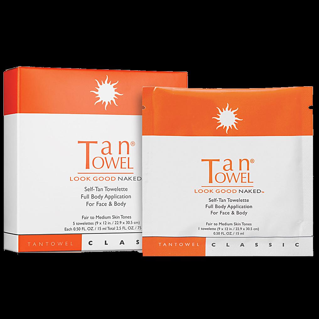 Tan Towel Plus Self-Tan Towelette