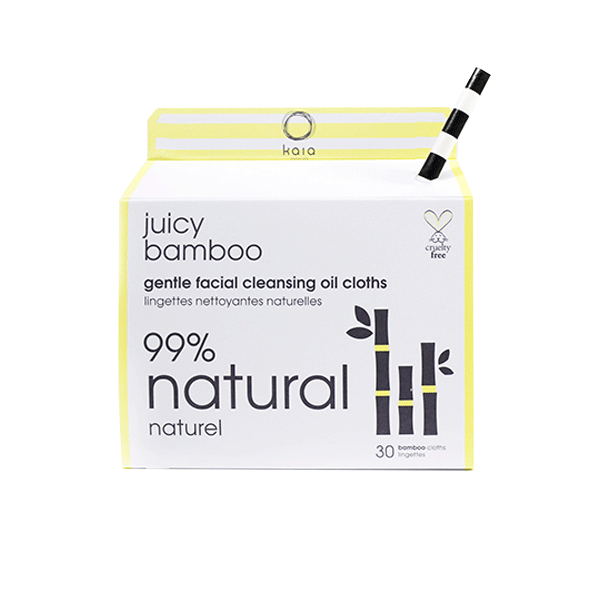 Juicy Bamboo Gentle Facial Cleansing Oil Cloths