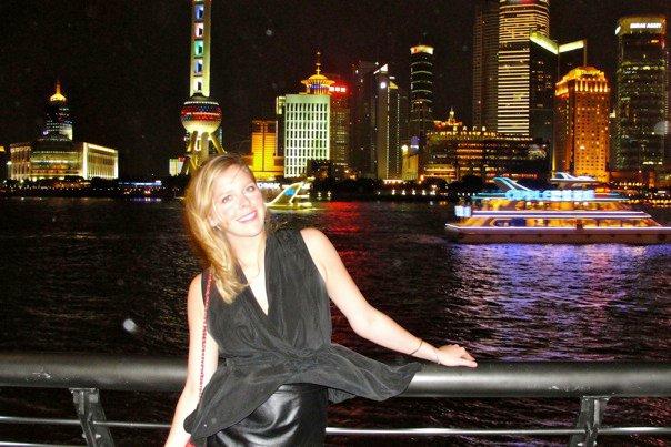 Hart in Shanghai.