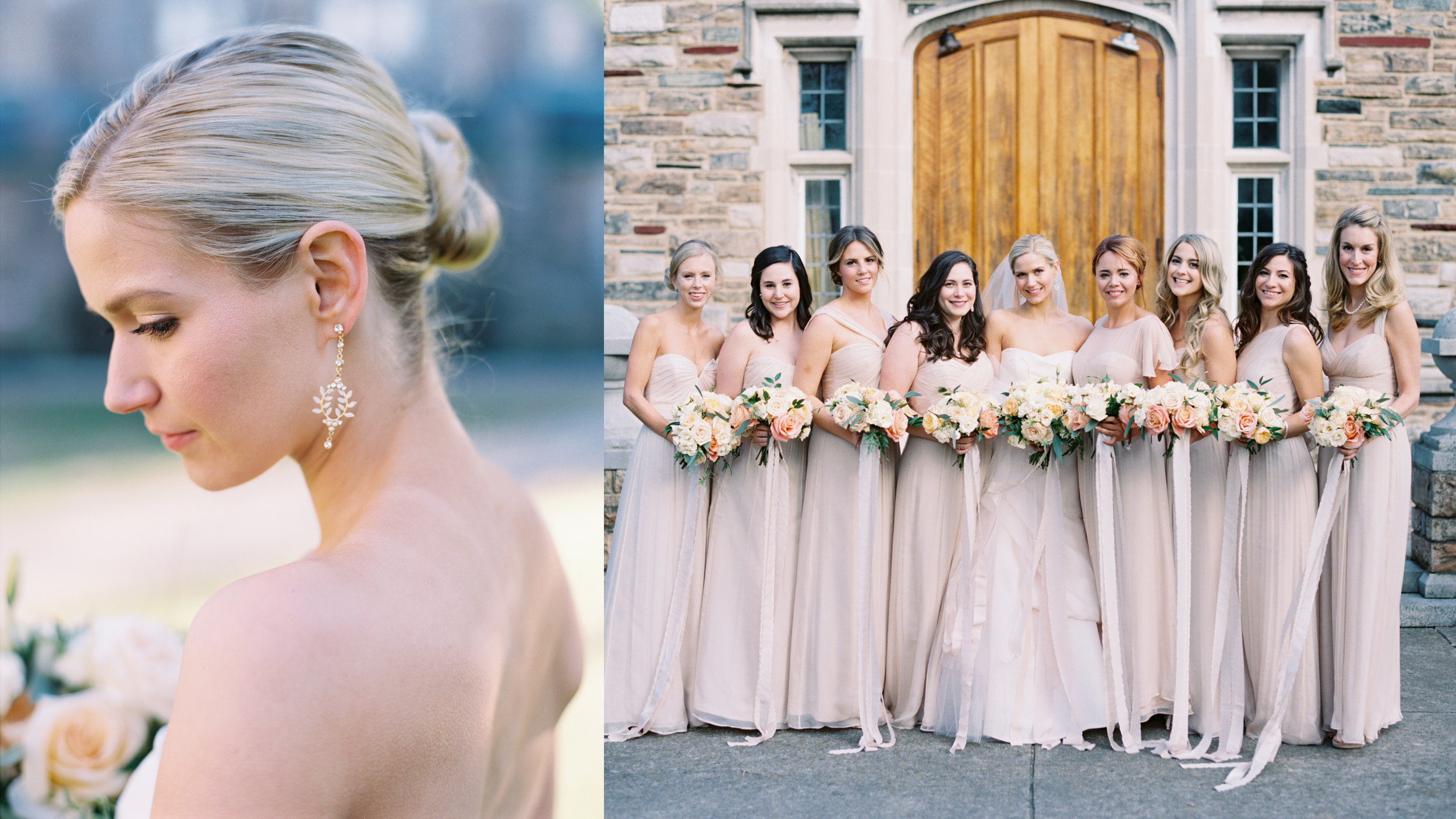 Amanda did the makeup for Allison (Mirror Mirror's executive producer) and her bridal party wedding.  Photos by Amanda's husband, Austin Gros, who is an incredible wedding photographer!  Check out his work here.
