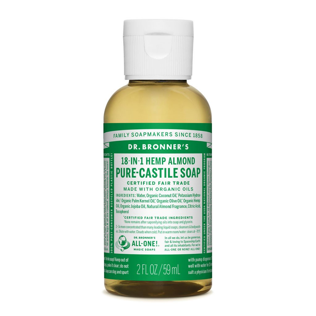Dr. Bronner's Hemp Almond Pure-Castile Soap