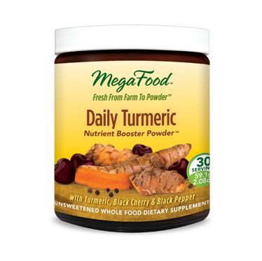 Megafood Daily Turmeric Nutrient Booster Powder