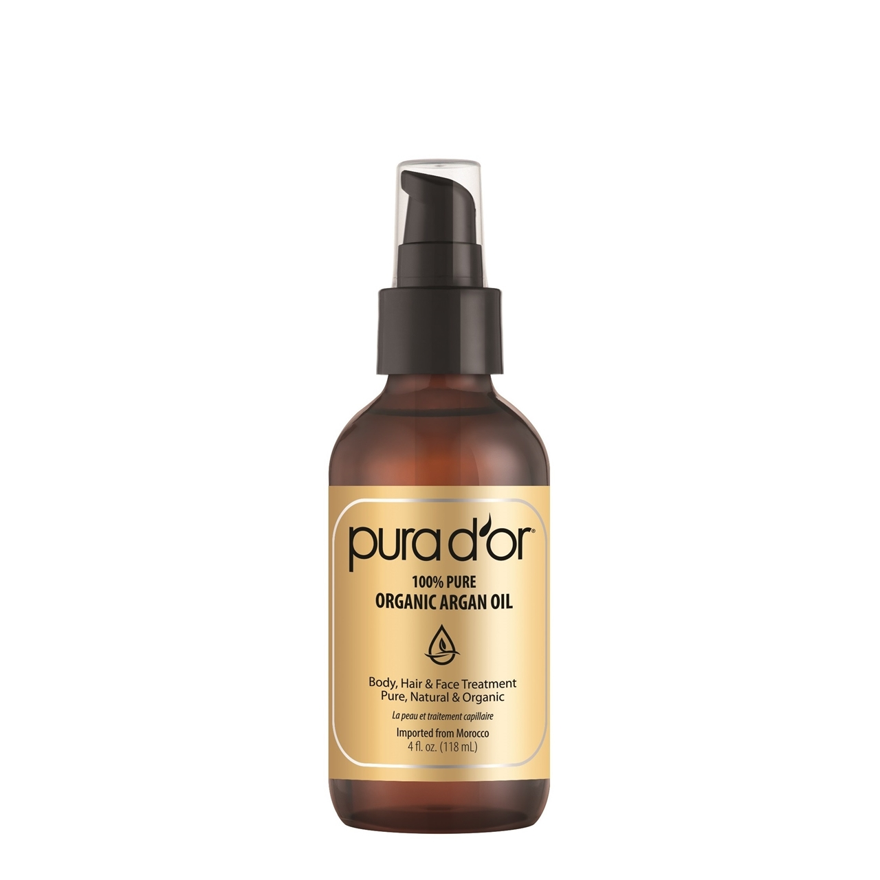 PURA D'OR 100% Argan Oil
