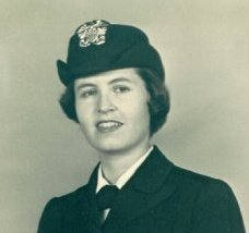 Author's Naval Mom-Mom c. late 1950s