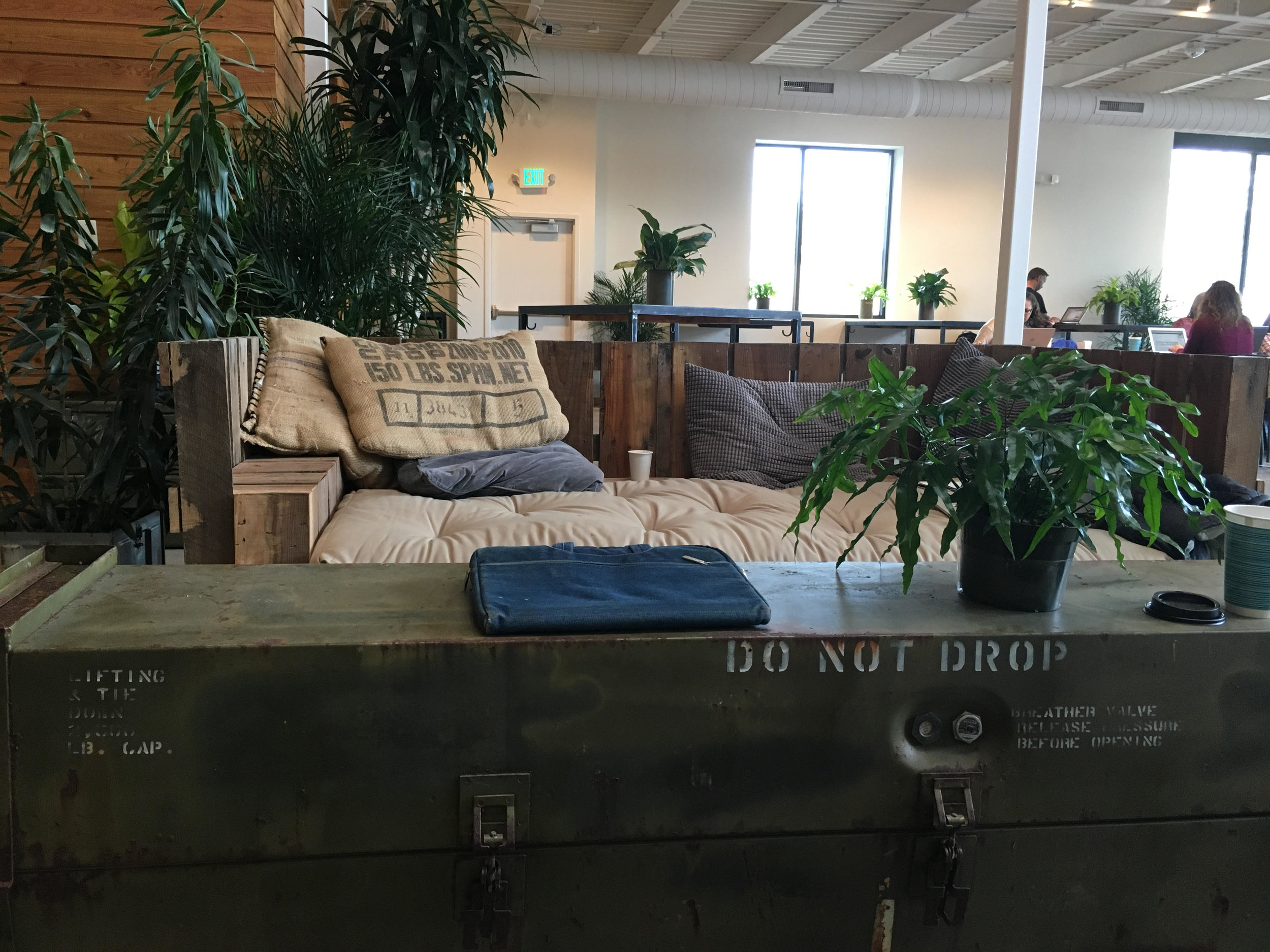 Crashed airplane furniture
