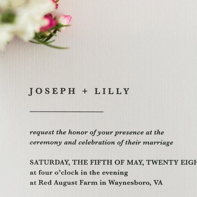 SIMPLE || Simple invitations are my favorite kind of stationery to design. Less is often times SO much more when it comes to details like these.  Wedding suites with minimal details give you more room to play with type, printing options (such as letterpress or foiling), and last but not least, paper choices!  A few weeks ago I had the chance to play with a few of these elements while creating some paper goods for a fresh and fun, yet elegant citrus styled shoot!  Here's a little sneak peak, but be sure to check out all the vendors below. - - -  #Repost @hannahjphotos with @get_repost ・・・ Love this simple yet elegant invitation suite from @jackieasbelldesign from the citrus-themed styled shoot I shared a couple days ago! Serif typefaces will forever have my heart! ⠀⠀⠀⠀⠀⠀⠀⠀⠀ Other vendors: Venue: @redaugustfarm Planning & Design: @pearleventsva  Photography: @hannahphotos Florals: @honeybeesfloriststaunton Paper Goods: @jackieasbelldesign Cake/Desserts: @bijoussweettreats Specialty Rentals: @another_chance_design Bridal Gown: @bridalimpressions Hair & Makeup: @firstlookartistry Jewelry: @crownjewelersva Model: Tasha + Clay . . . . . . . . . . #vaweddingphotographer #mdweddingphotographer #harrisonburgweddingphotographer #ido #theknotweddings #instawedding #hannahjoyweddings #ohwowyes #soloverly #instawed #weddingwire #stylemepretty #thatsdarling #virginiaweddingphotogrpaher #marylandweddingphotographer #charlottesvilleweddingphotographer #richmondweddingphotographer #virginiaisforlovers #creativecommunity #risingtidesociety #creativeeconomy #baltimoreweddingphotographer #annapolisweddingphotographer #rvabride #dcbride #virginiabride#howheasked