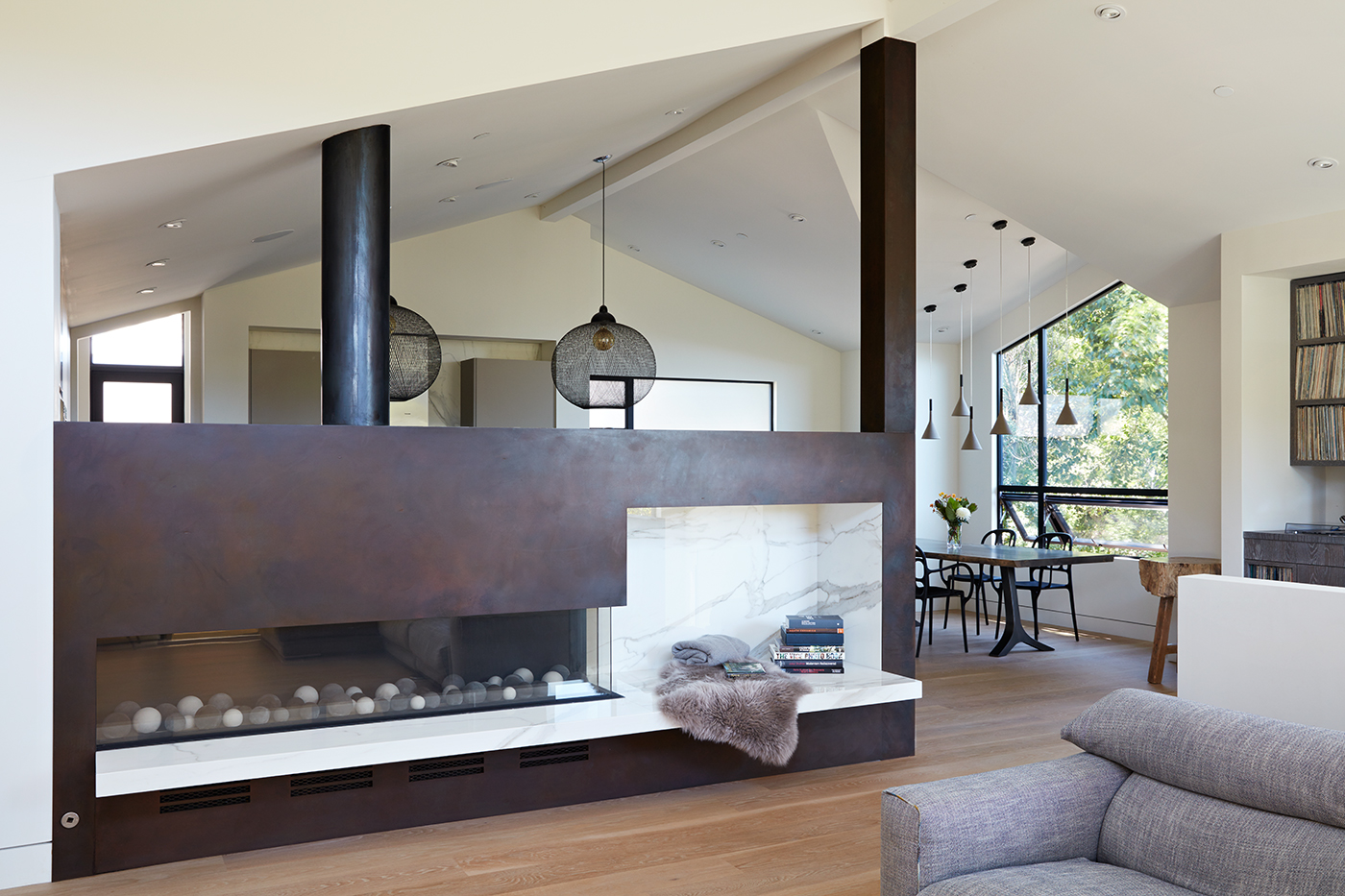 Thoughtful Design Details Warm Up a Modern Family Home in Northern California - Dwell Magazine | September 17, 2017
