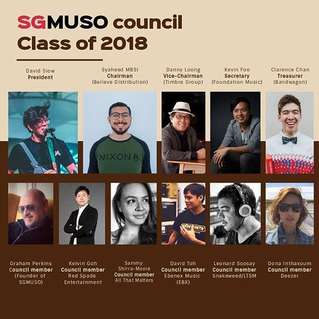 Boom! You've voted, these are the guys that are bringing SGMUSO into it's new era. Presenting, the #sgmuso council of 2018!