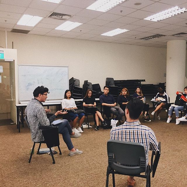 """Most of the hit pop songs in 2017 clocked in between 85-95bpm"" - David of #sgmuso at the La Salle Arts management degree program, hosted by @drsamwong"