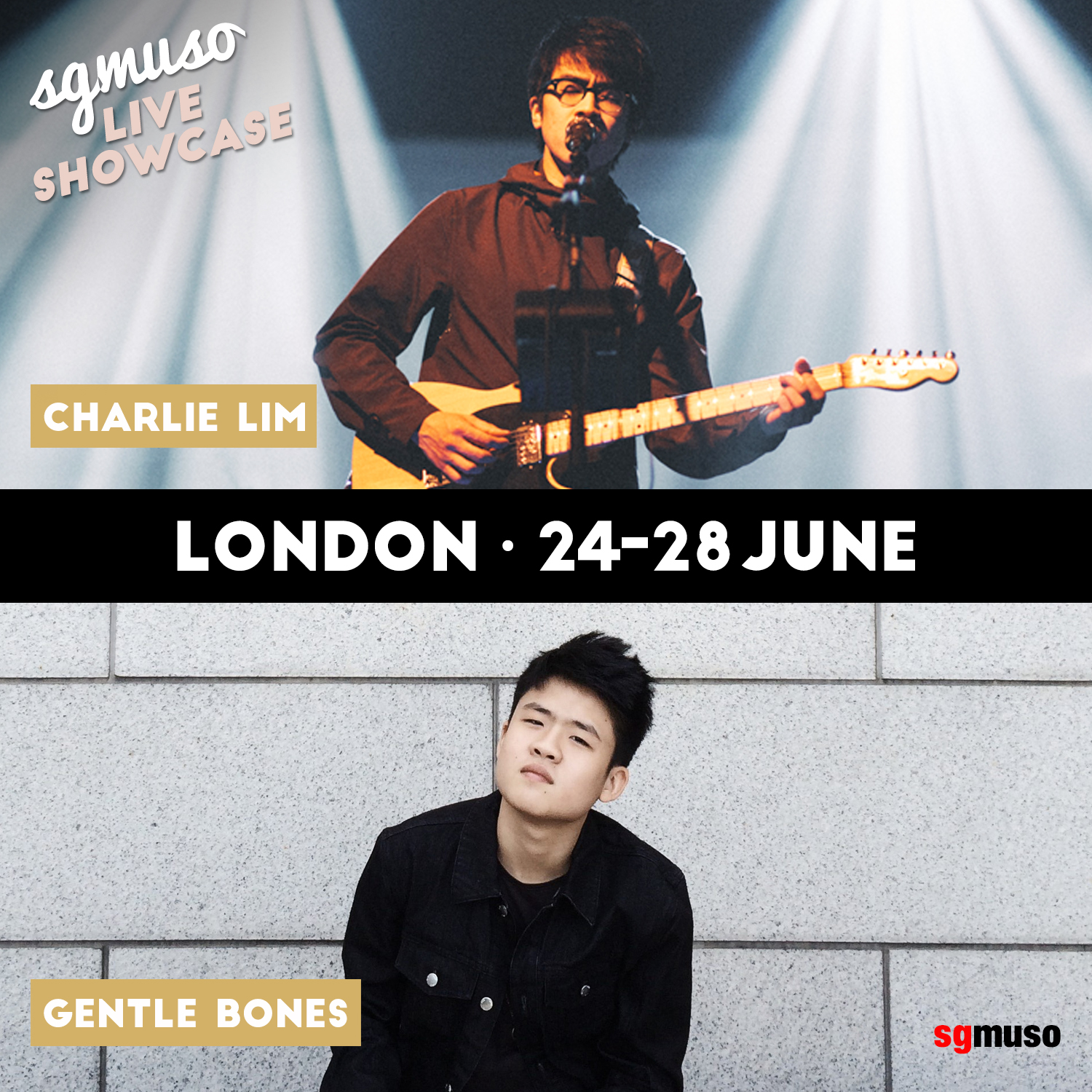 The London showcases featured some of Singapore's most prolific musicians, singer-songwriters Charlie Lim and Gentle Bones, indie rock quintet Pleasantry, electronic act .gif and art-meets-music duo NADA.
