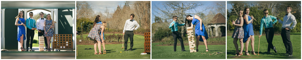 vintage lawn game hire auckland events wedding party