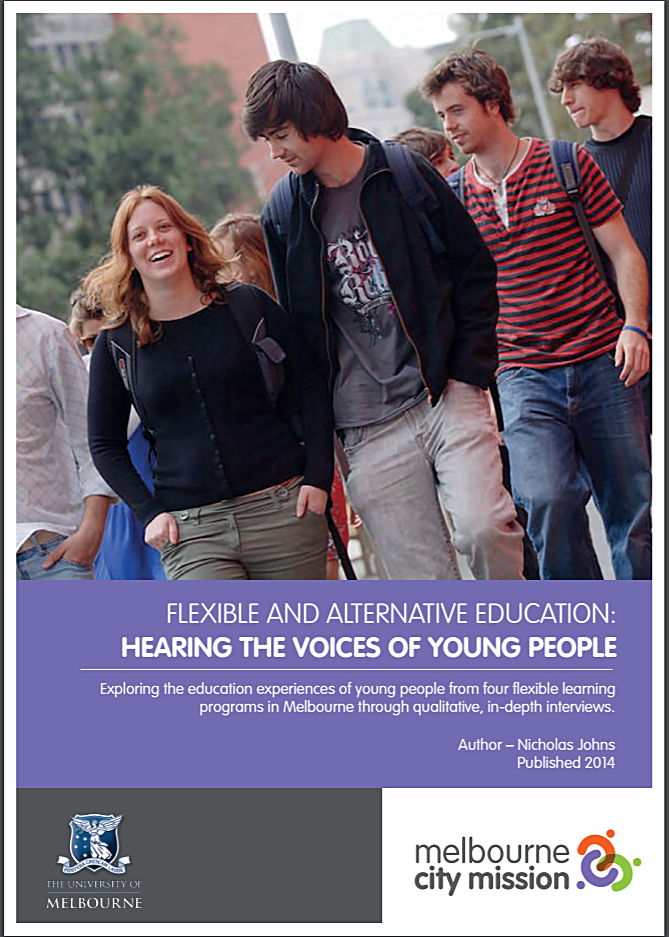 Flexible and Alternative Education: Hearing the voices of young people