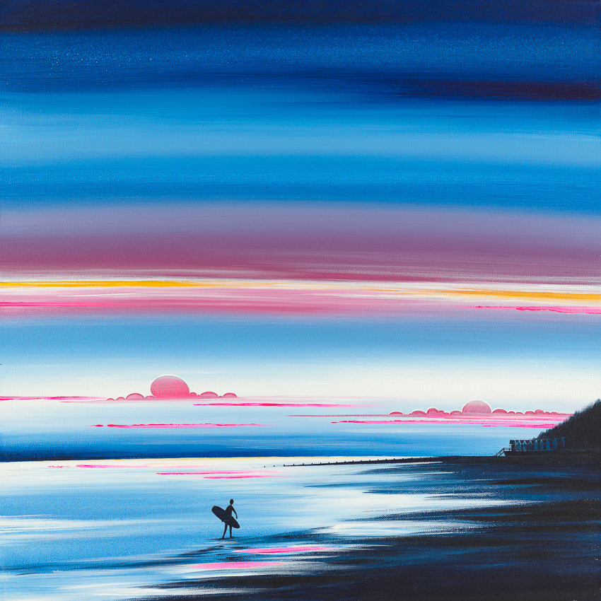 'The Lone Surfer'