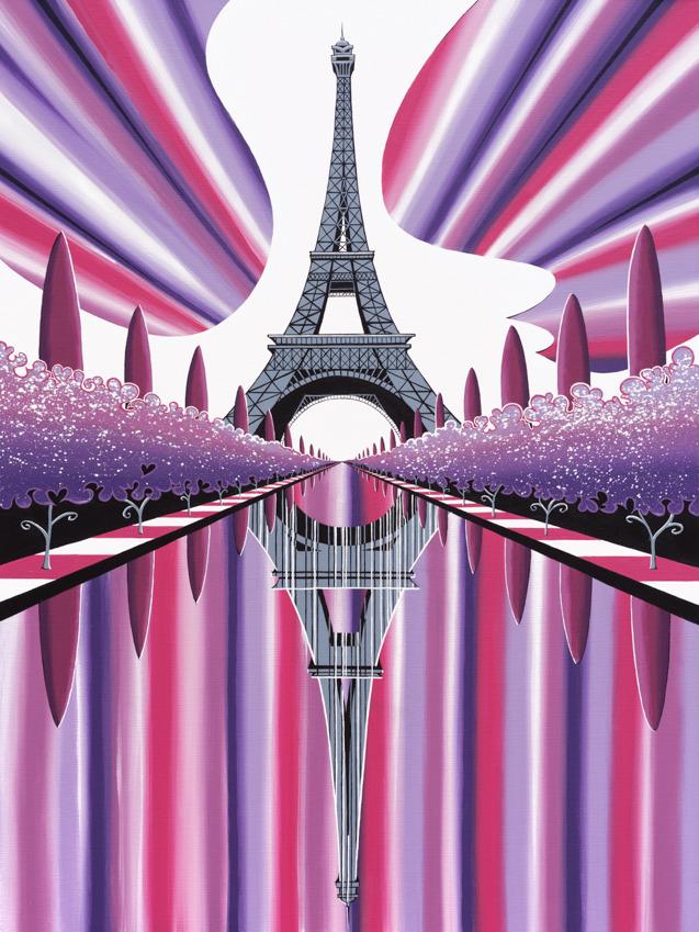 'Sunset over Paris'