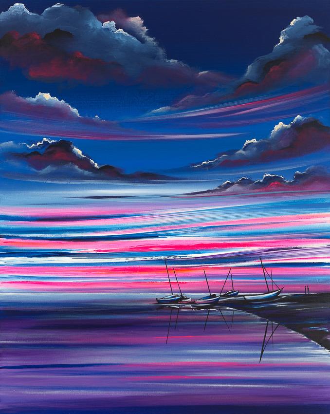 'Blakeney Harbour Sunset'