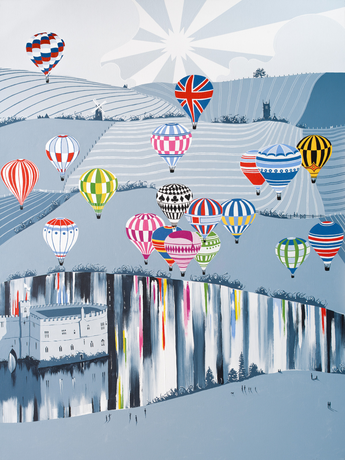 'Balloons over Leeds Castle' (KENT)