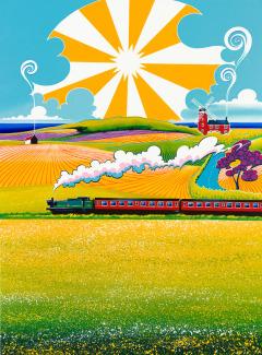 'Train Through Weybourne'