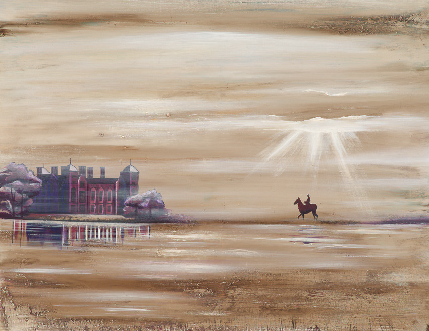 'Blickling Estate at Daybreak'