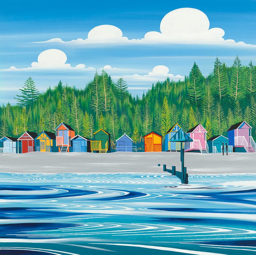 'Holkham Beach Huts'