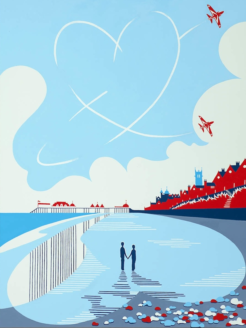 'Red Arrows over Cromer'