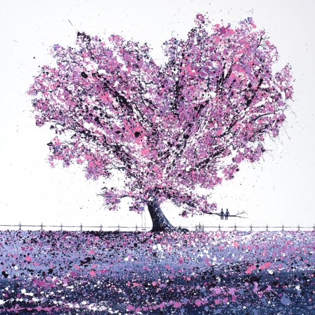 Cherry Blossom Under The Tree.JPG