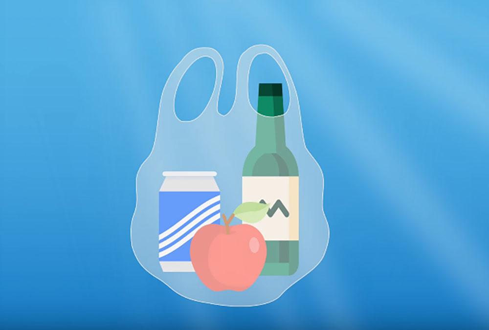 塑膠袋重複利用