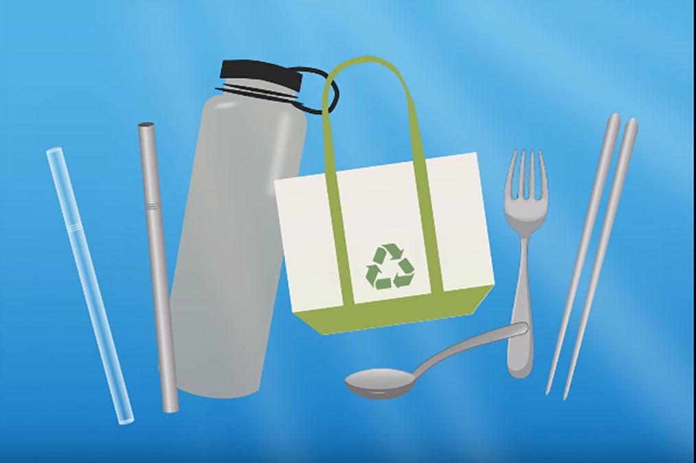 使用環保餐具