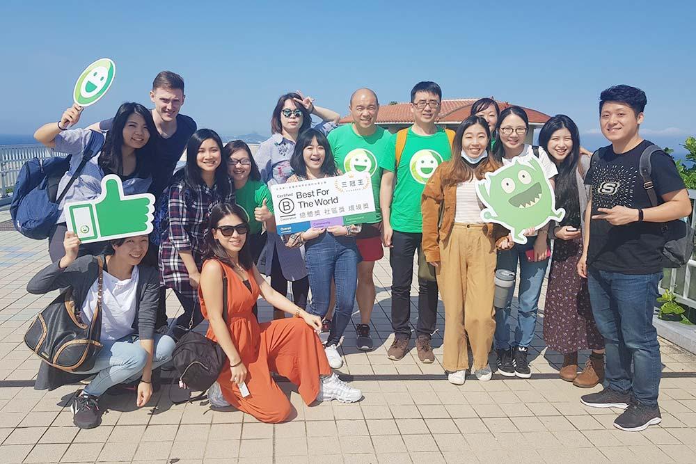 對環境保護的熱情如同與沖繩太陽般一樣熱烈,出發充電去!