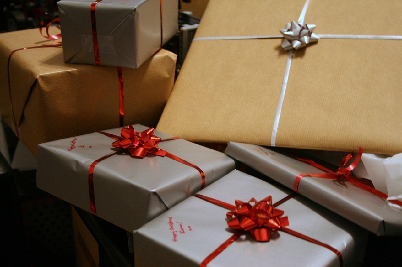 減少層層包裝的禮物