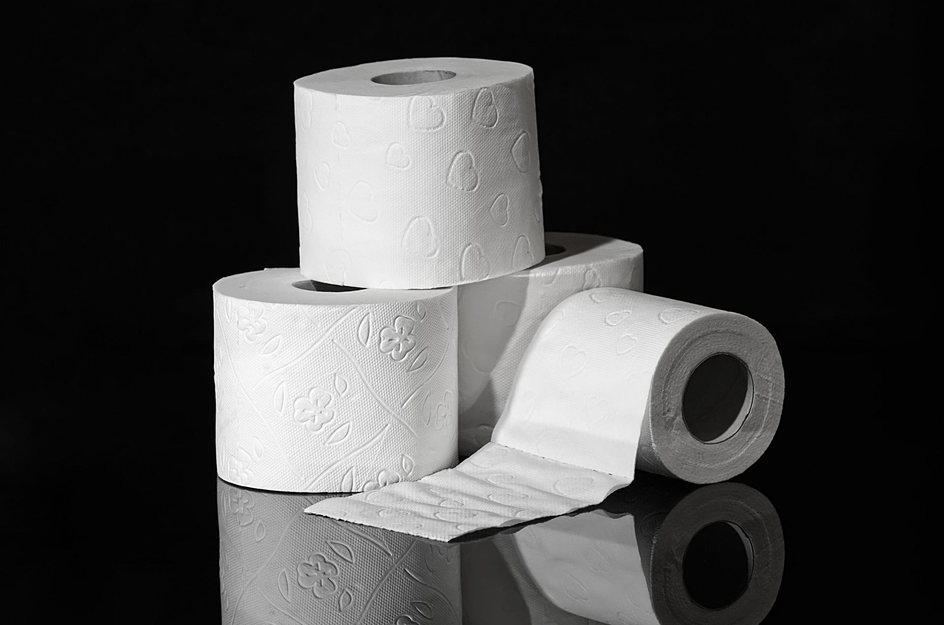 別忘了將廁所中的衛生紙換成再生衛生紙