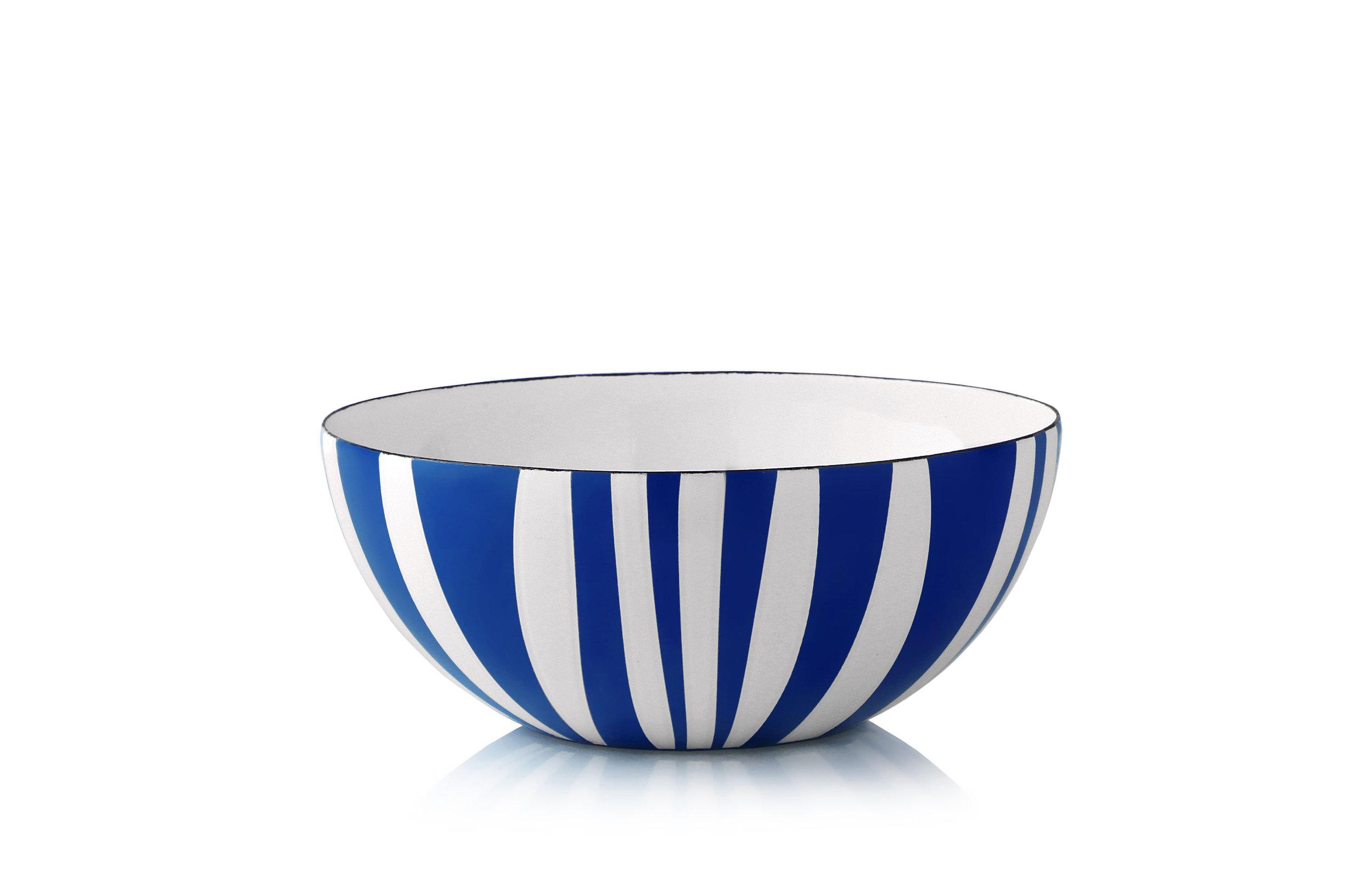 18 cm - Stripes kolleksjonBlå