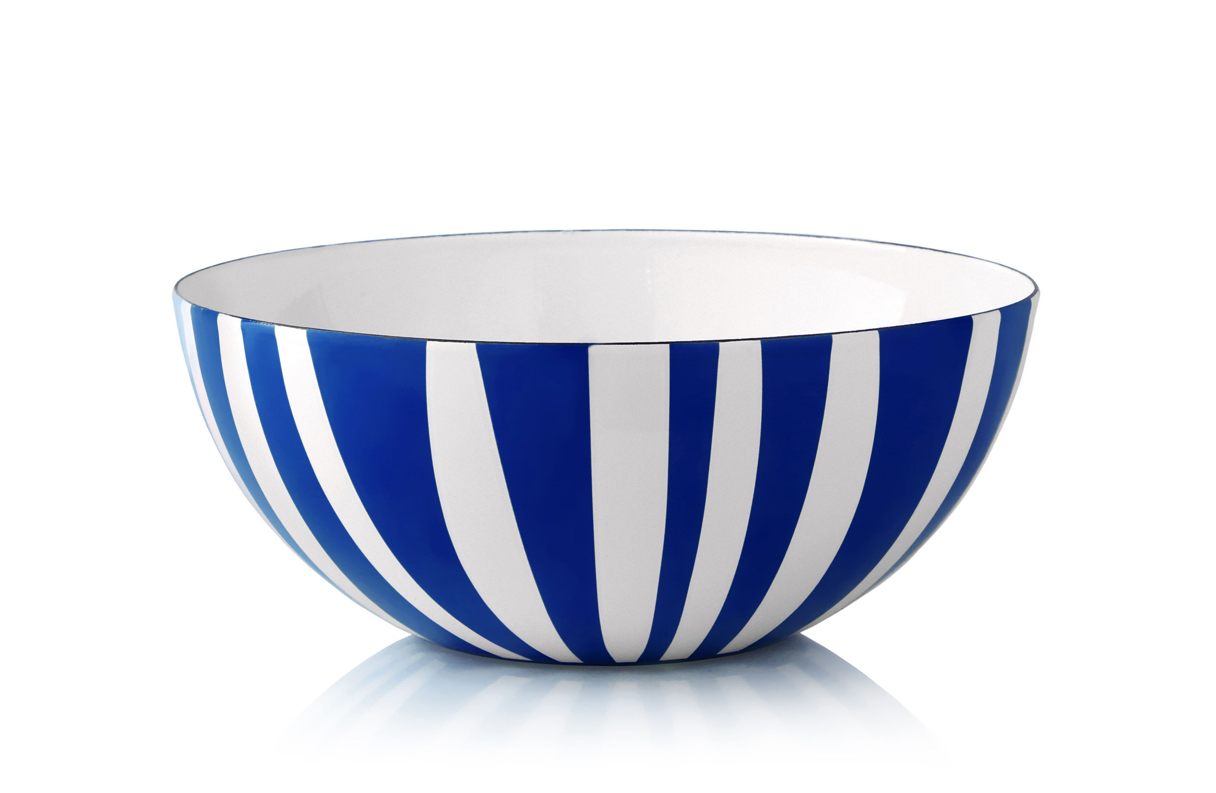 24 cm - Stripes kolleksjonBlå