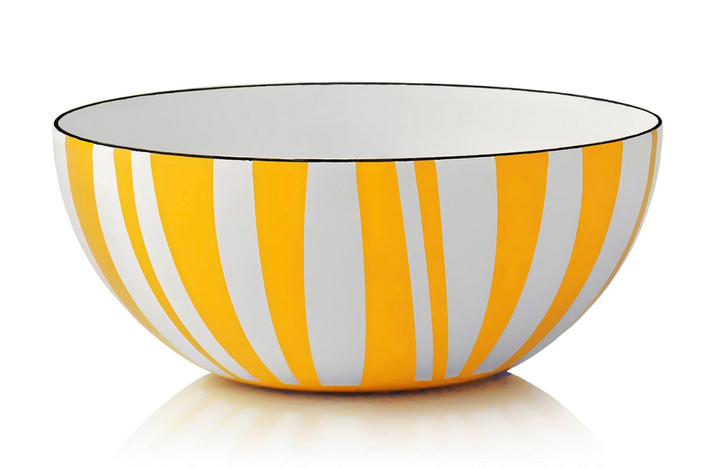 30 cm - Stripes kolleksjonGul